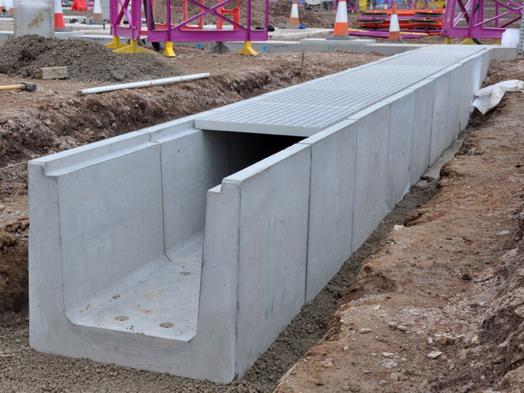 Trench Drains/Utility Ducts - Precon